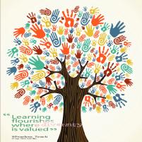diversity tree with quote