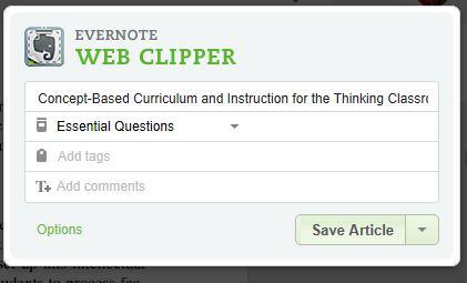 web Clipper