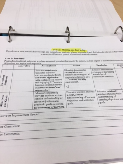 District Appraisal Tools